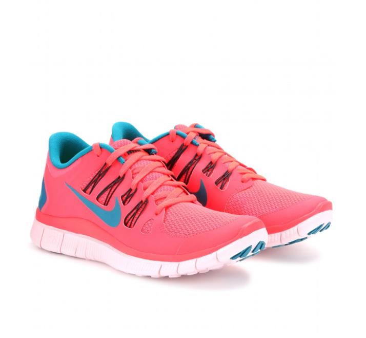 Sneakers Nike Free 5.0 in pink, gesehen bei mytheresa.com, ca. 115 Euro