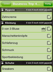 Pack the bag - entspanntes Kofferpacken
